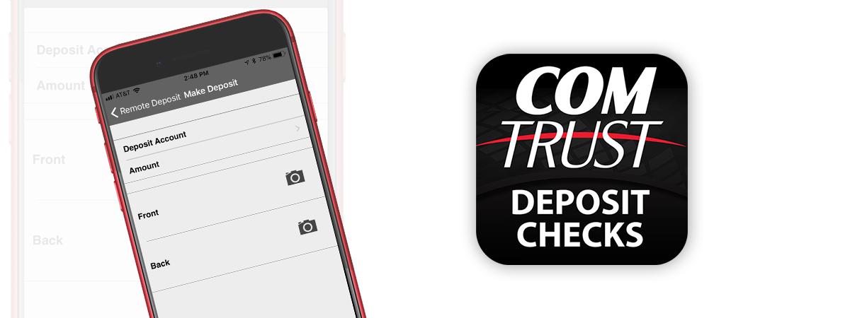 Mobile Deposit capture graphic