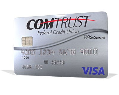 COMTRUST Platinum Credit Card image