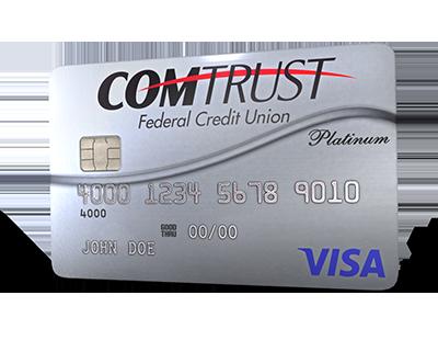 Comtrust Platinum Credit Card Image